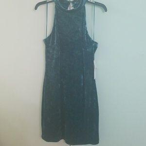 Velvet Cynthia Steffe size 10 halter neck dress